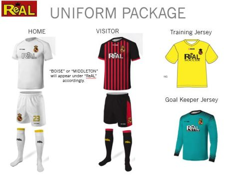 Required Uniform Package 2017-2018
