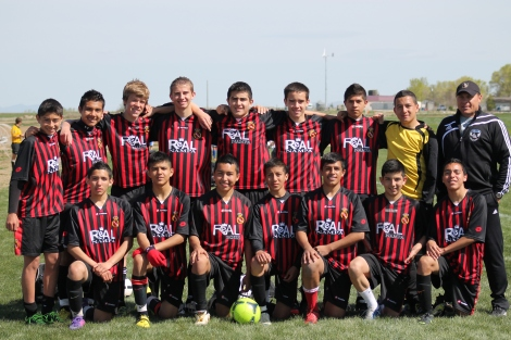 Real Nampa CF U15 Boys 2013 Perfomance Cup Finalists 2
