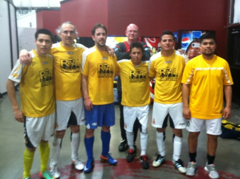 Real Boise CF Mourinho - Indoor Soccer Champions - April 2014