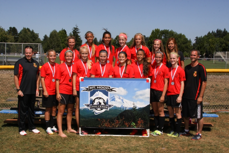 Real CF U14G Heat - Finalists Aug 2014