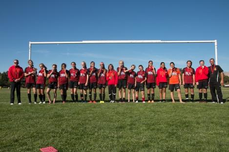 Real CF Heat - Gem State Champions, Fall 2014, Boise ID