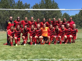 Real Boise CF Heat Sevilla U17 Girls at State Cup, May 26-29, 2017, Boise, ID