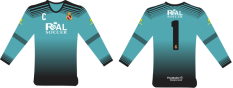 Capture Green Teal Long Sleeves GK Jersey