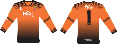Capture ORANGE Long Sleeves GK Jersey