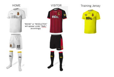 Capture - Squadra Player Uniform Package