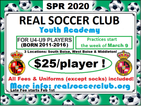 Real Soccer Academy GENERIC ad Flyer Spring 2020 v1