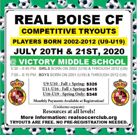 Real Boise Soccer ad Comp Tryouts - V3
